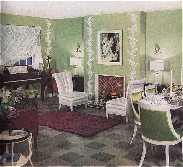 Best 1936 Key Lime Living Room Retro Home Retro Living This Month