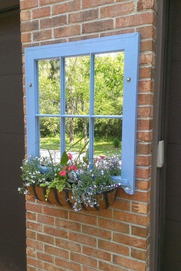 Best 50 Ideas For Garden Decorations Of Old Windows And Doors This Month