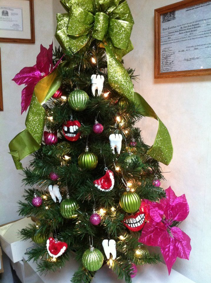 Best Our Dental Christmas Tree I Hand Made The Dental This Month