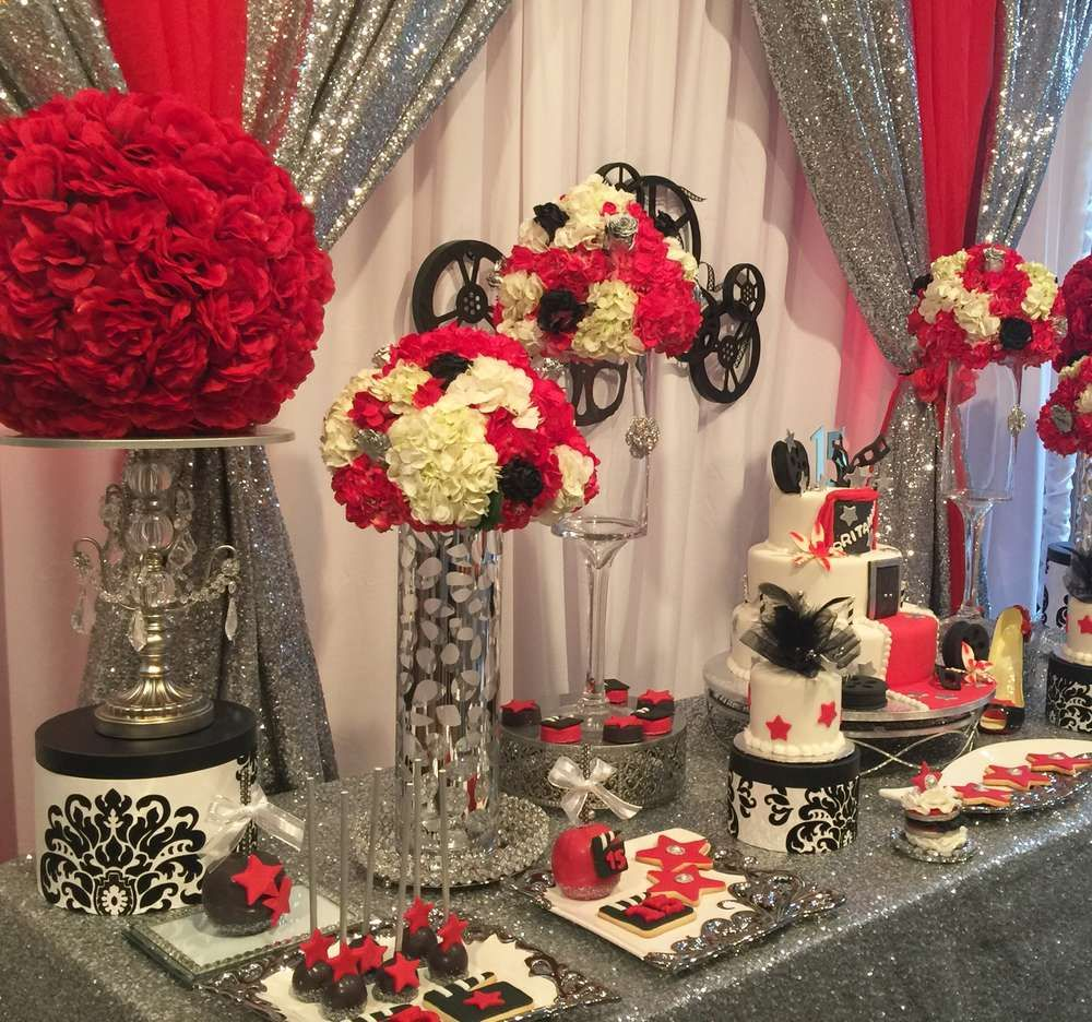 Best Hollywood Quinceañera Party Ideas In 2019 Theme Party This Month