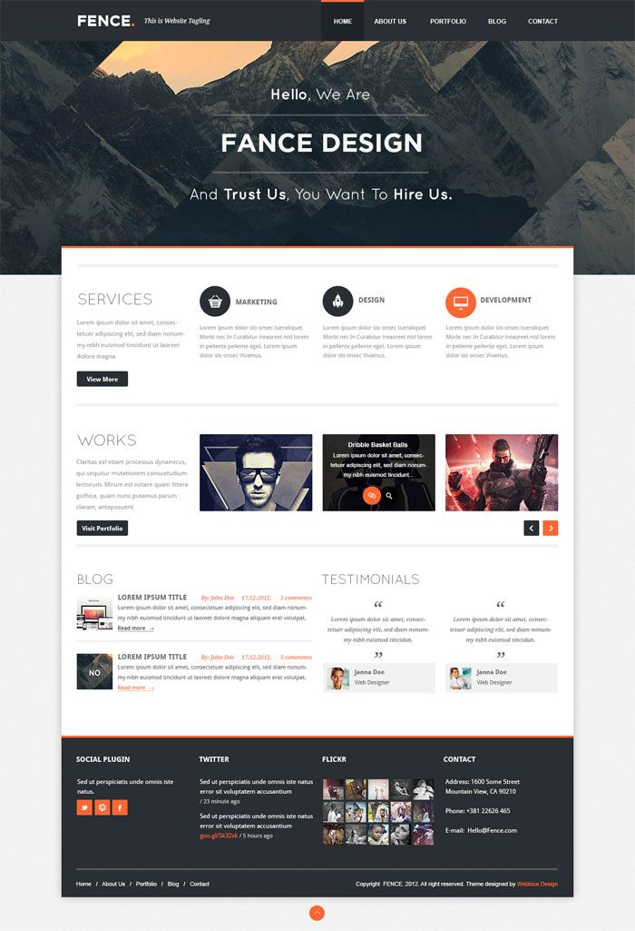 Best Clean Modern Layout Full Width Header Clean Type For This Month