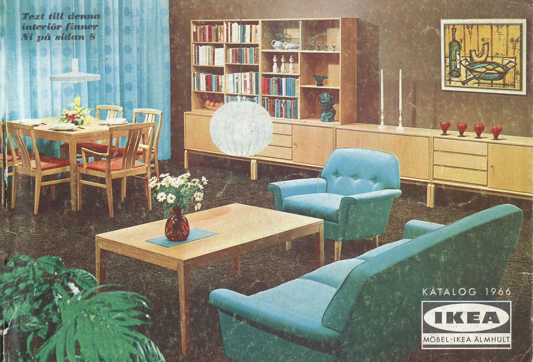 Best Ikea Catalog Covers From 1951 2018 Mid Century Modern This Month
