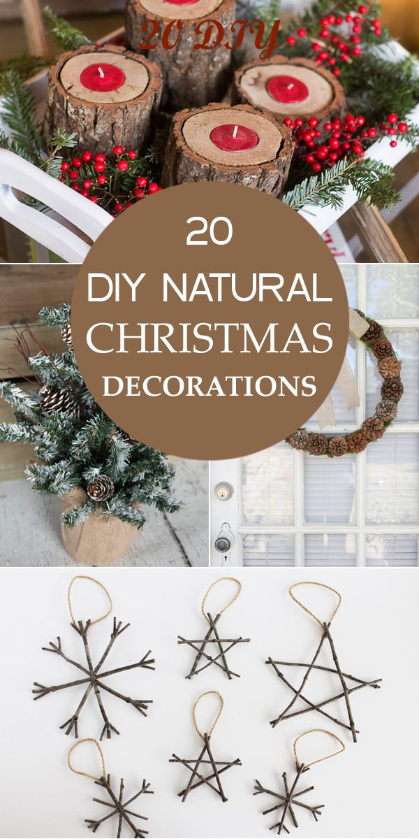 Best 20 Diy Natural Christmas Decorations A More Natural This Month