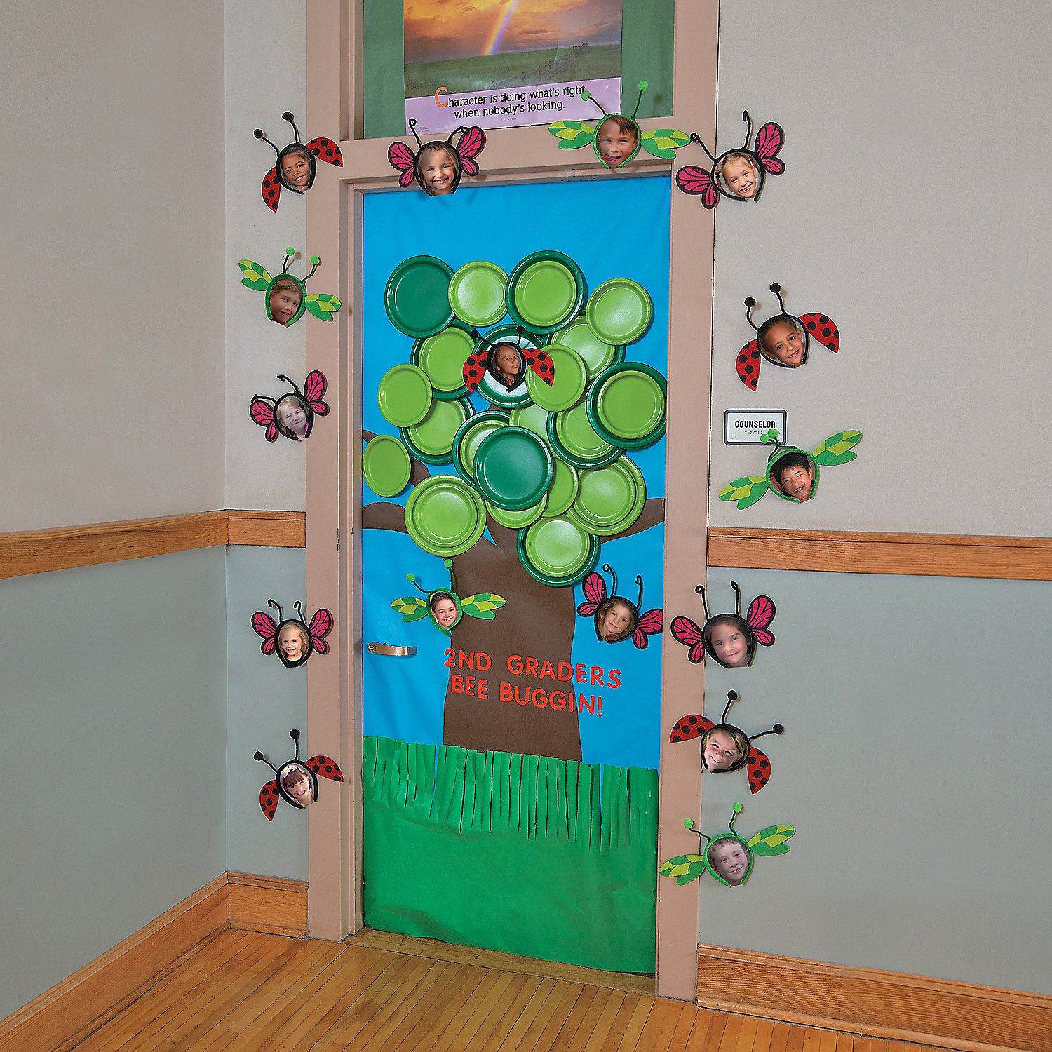 Best Spring Tree Door Decoration Idea Orientaltrading Com This Month