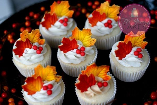 Best Falling For Fall Cupcakes And Sweets Autumnal Birthday This Month