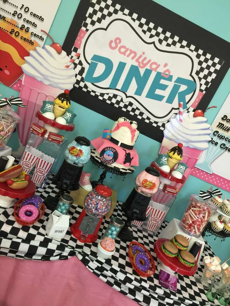 Best 1950 S Sock Hop Birthday Party Ideas Retro Party Ideas This Month