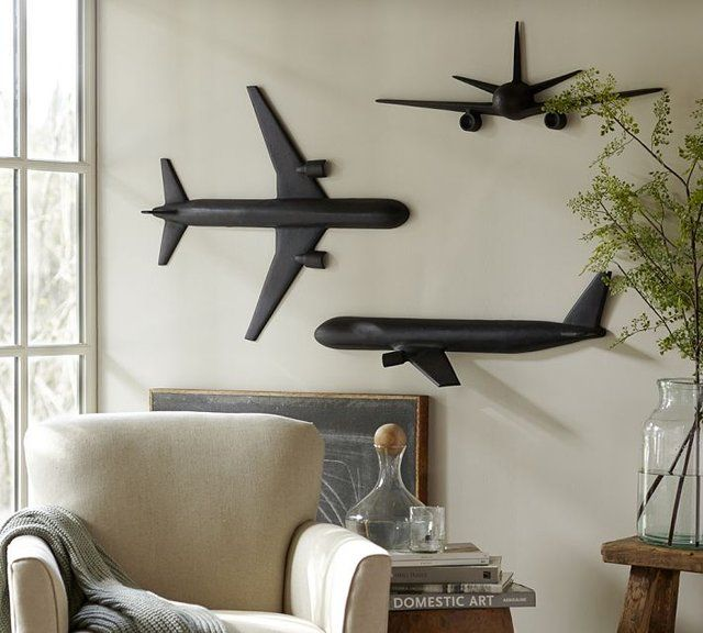 Best Cast Plane Wall Art … Airplane Pinte… This Month