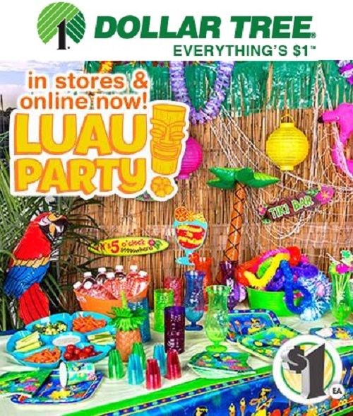 Best Luau Decorations Dollar Tree Billingsblessingbags Org This Month