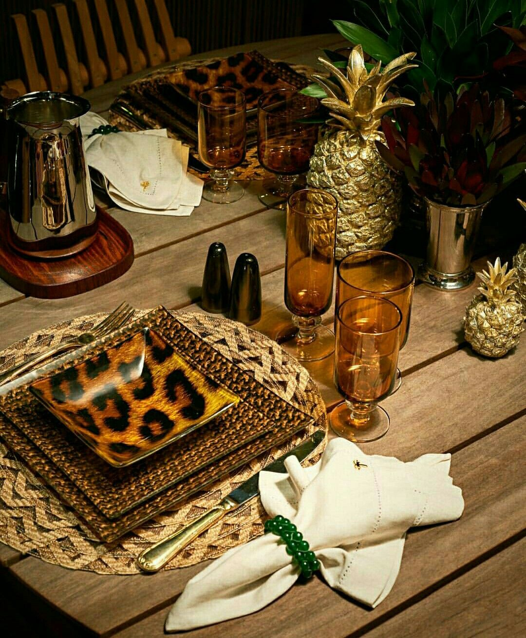 Best African Inspired Table Setting Out Of Africa Quizz This Month