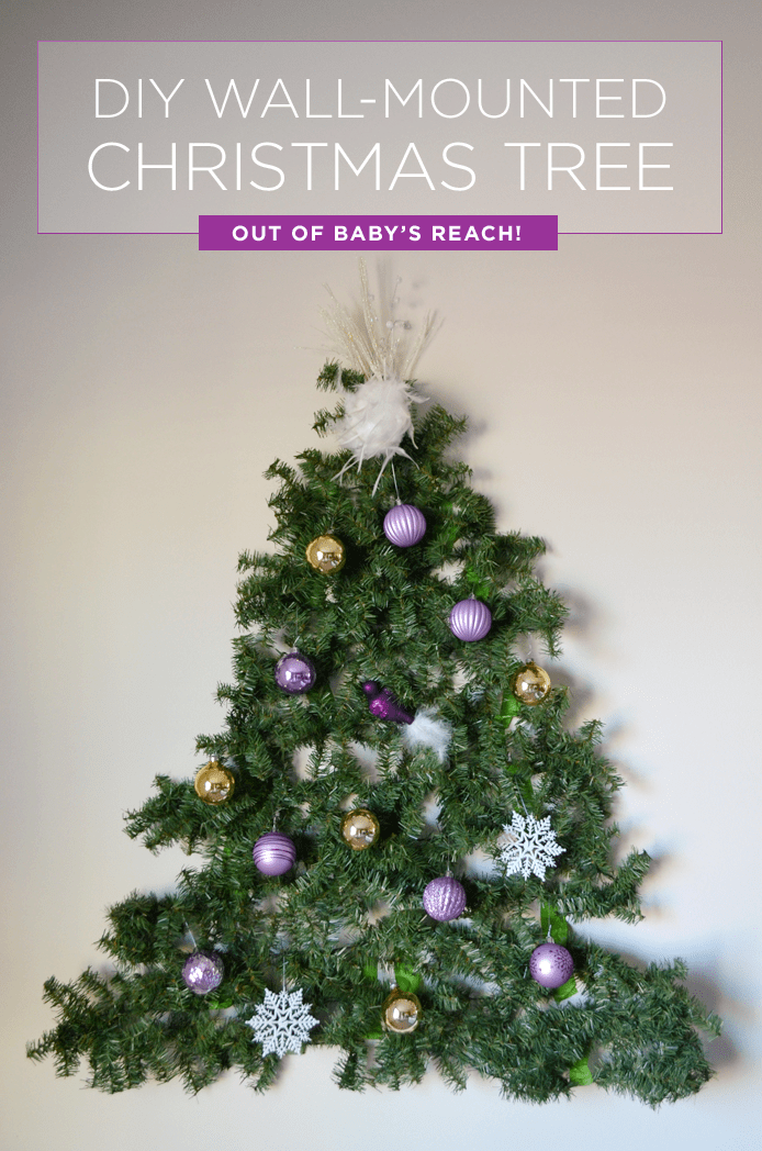 Best Have A Baby Or Toddler Make A Diy Tree You Can Mount On This Month