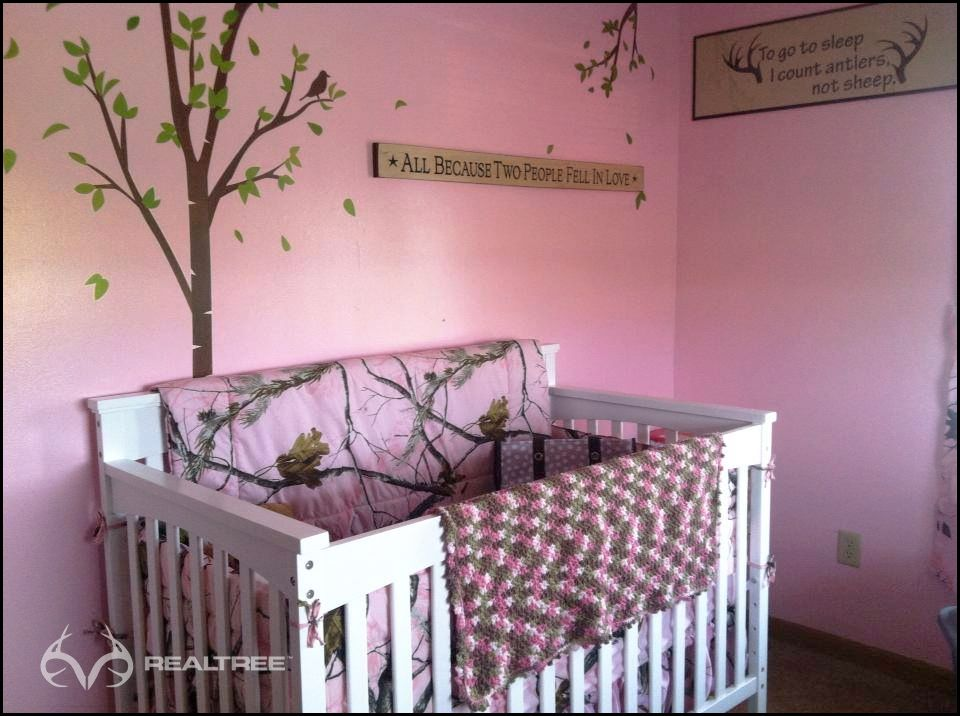 Best Realtree Pink Camo Nursery Rooms Baby Girl Camo Camo This Month