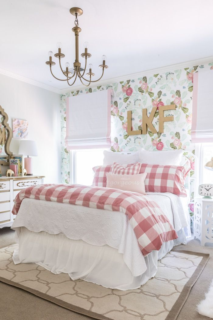 Best Floral Fun Big Girl Room Bhg S Best Home Decor This Month