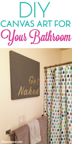 Best Diy Canvas Art For Your Bathroom Family Man Diy This Month