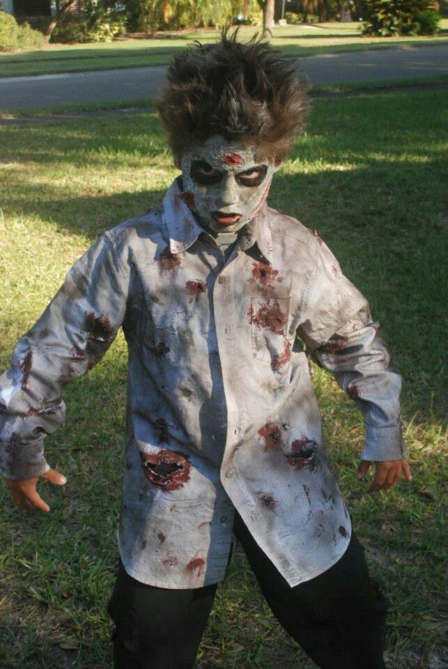 Best Diy Zombie Costume Halloween Costumes Pinterest And Web This Month