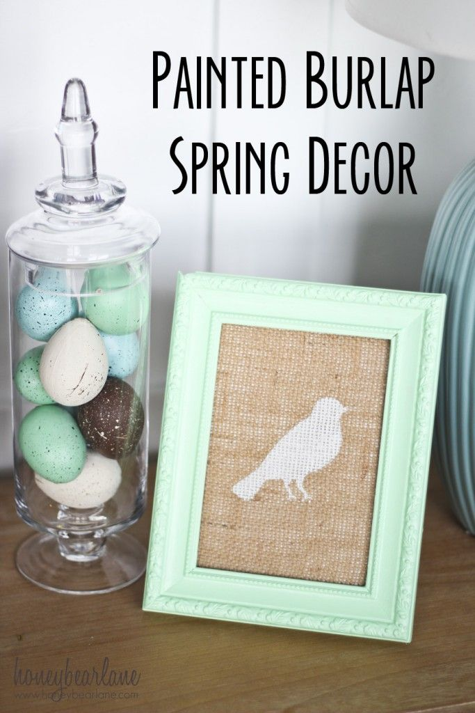 Best Easy Painted Spring Decor Spring Summer Decoart This Month