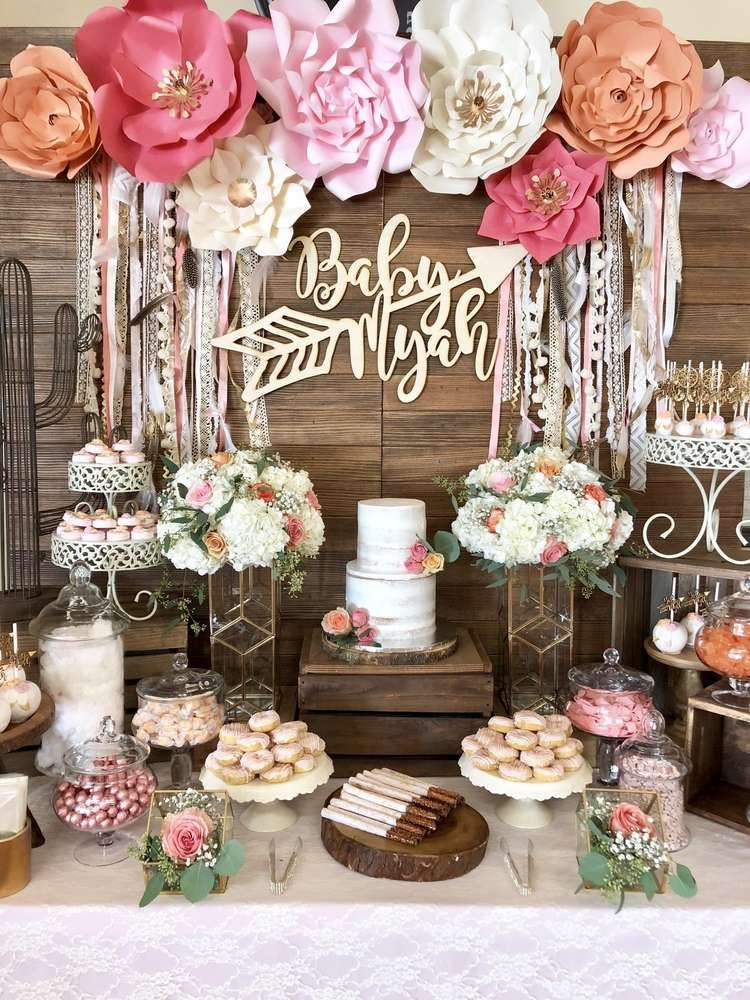Best Boho Chic Baby Shower Party Ideas In 2019 Boho Baby This Month