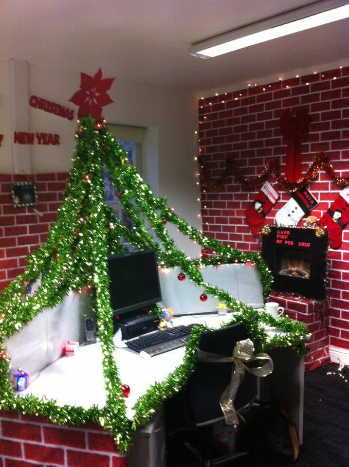 Best Christmas Work Desk Pod Decorations Under The Christmas This Month