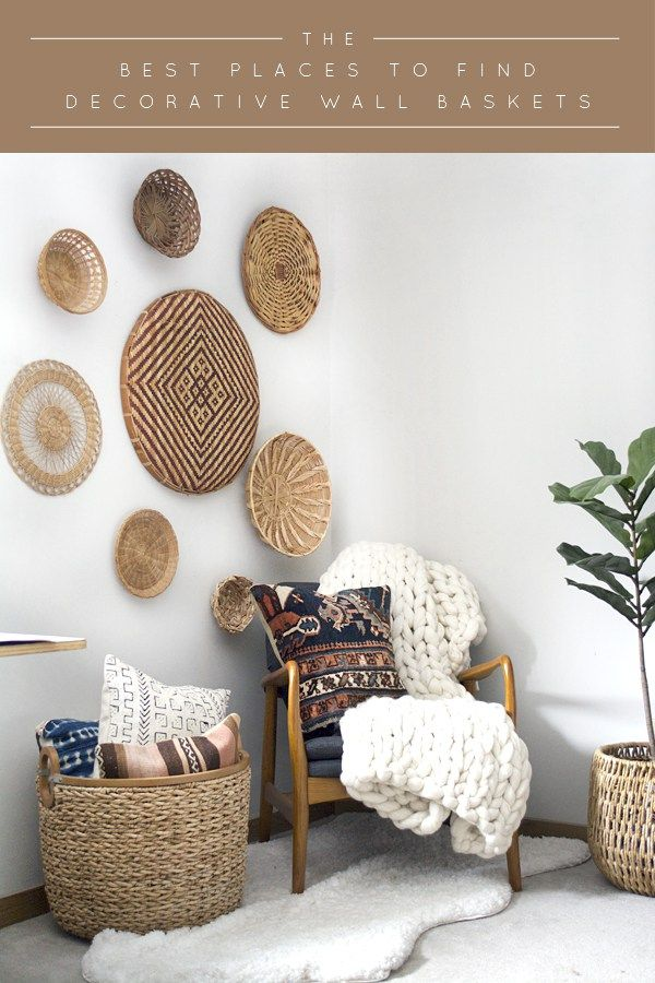 Best The Best Places To Find Decorative Wall Baskets This Month