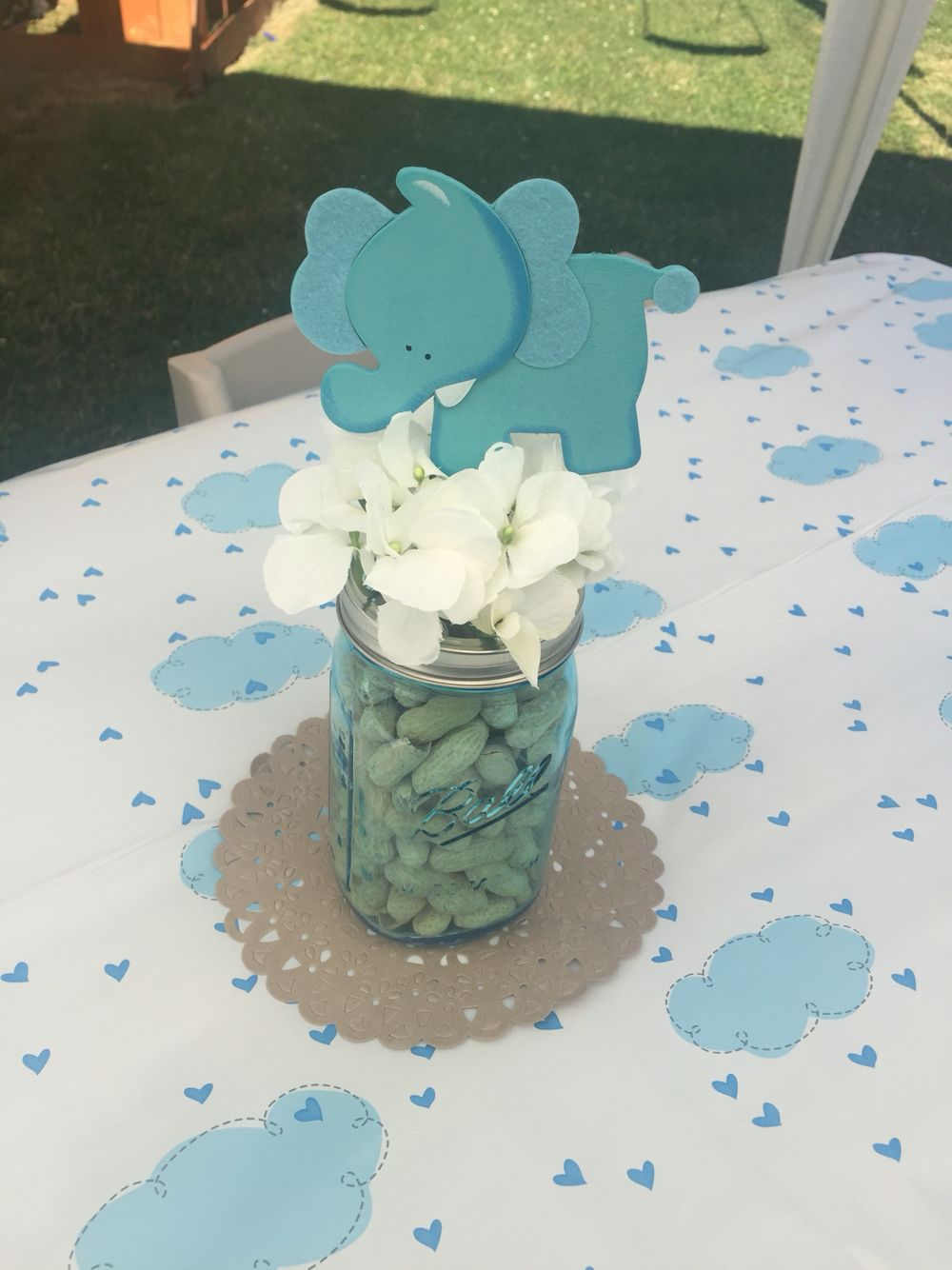 Best Elephant Little Peanut Baby Shower Centerpiece Baby This Month