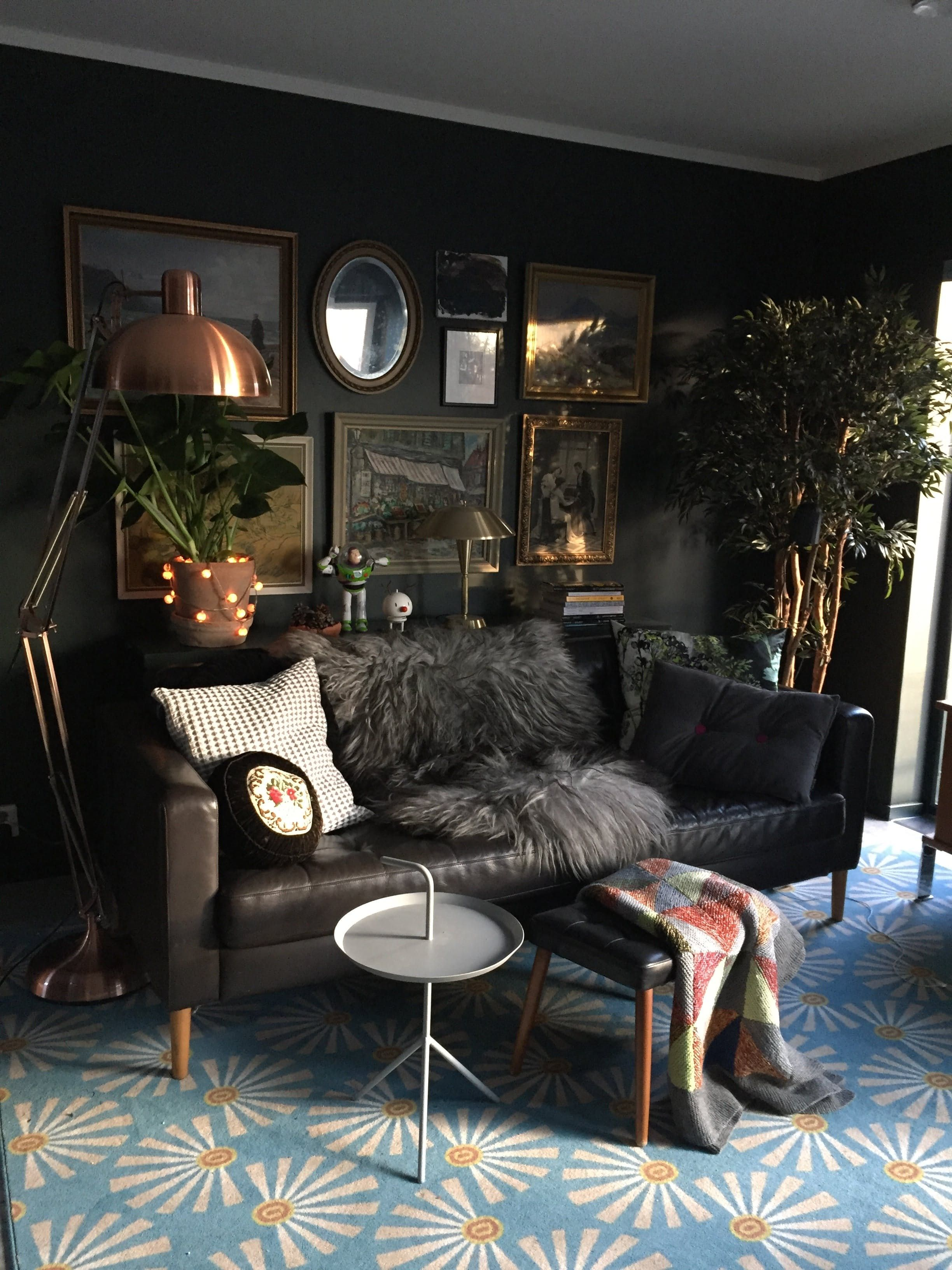 Best A Gorgeously Dark And Dramatic Family Home In Norway This Month