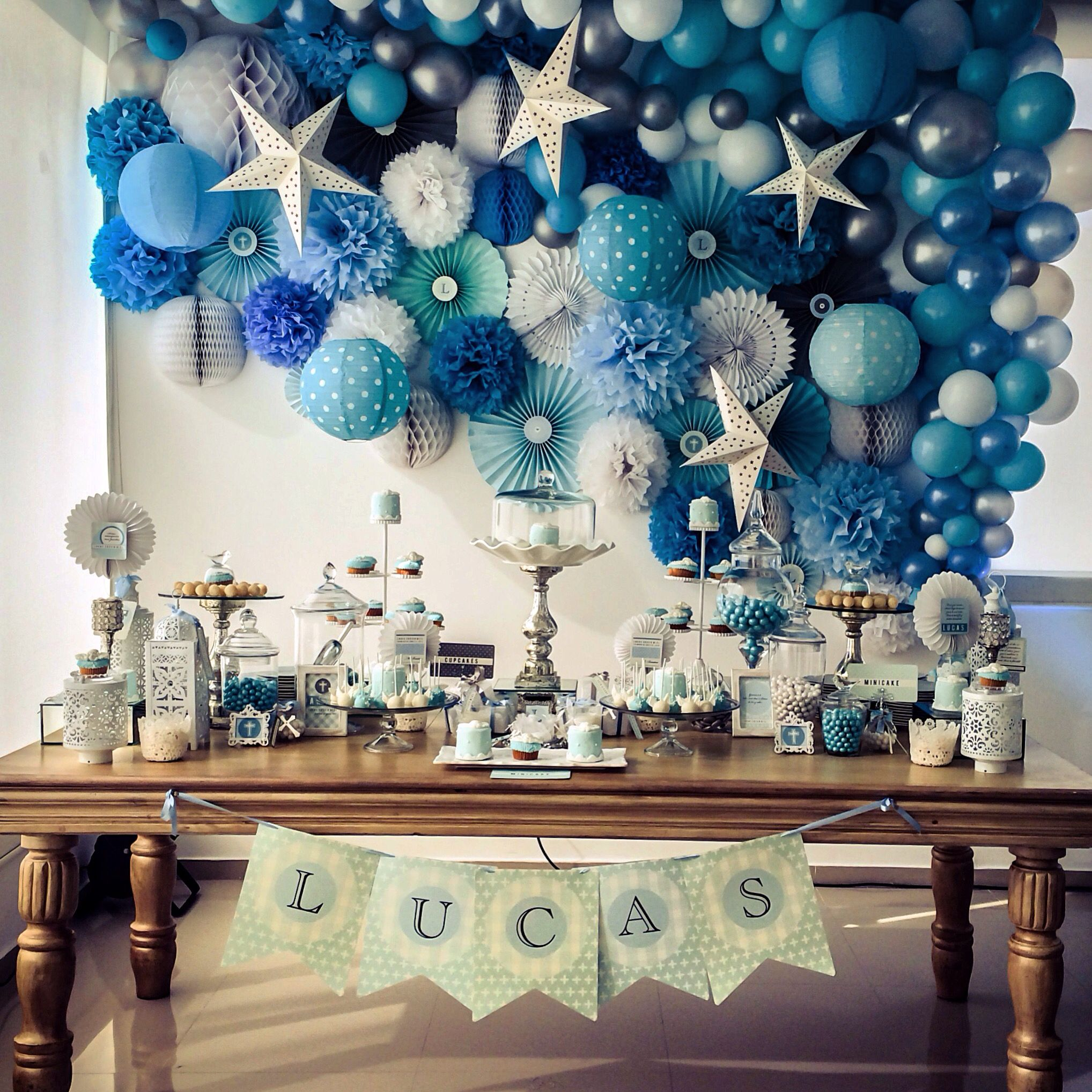 Best Baptism Baby Boy Backdrop Christening Decorations This Month