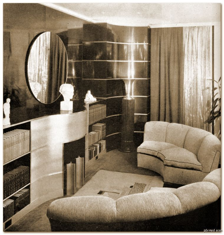 Best 1930S Living Room Art Deco Pinterest Art Deco Living This Month