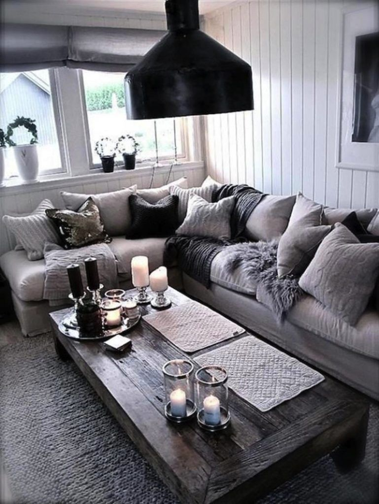 Best 29 Beautiful Black And Silver Living Room Ideas To Inspire This Month