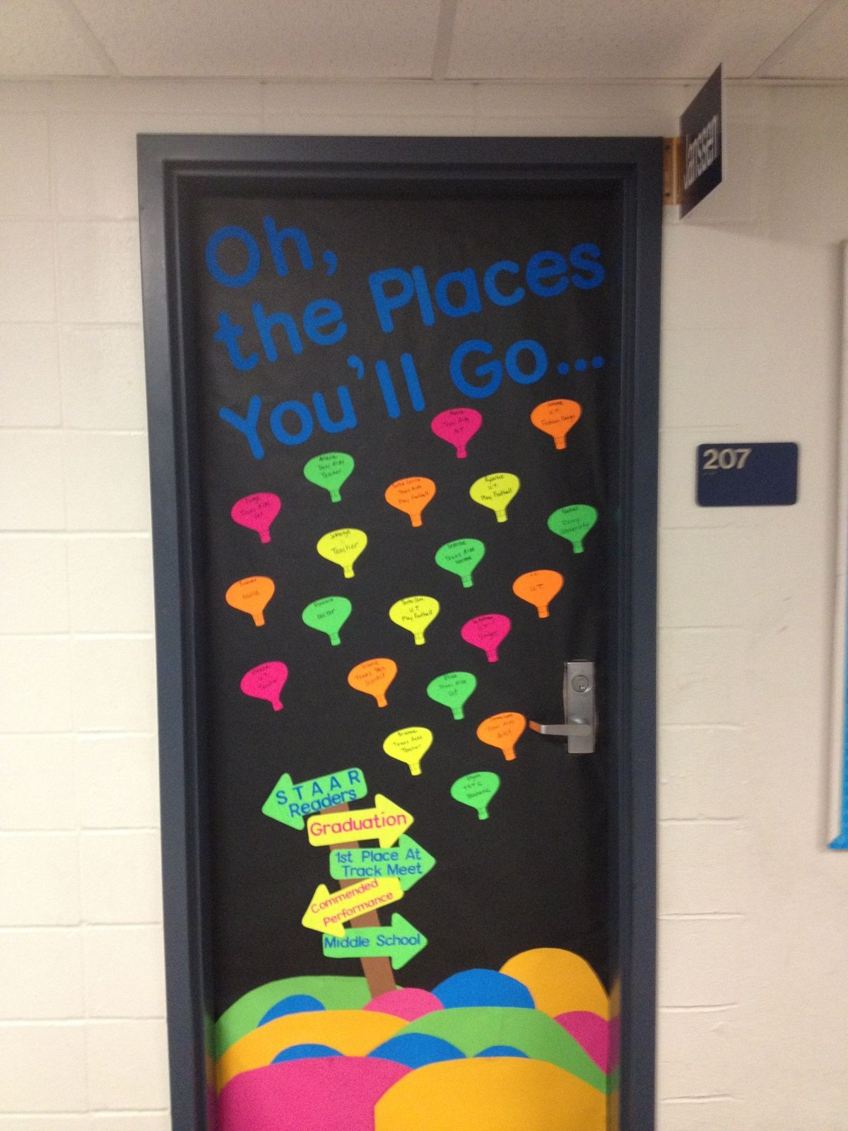 Best Oh The Places You Ll Go Door Decoration For Older Students This Month