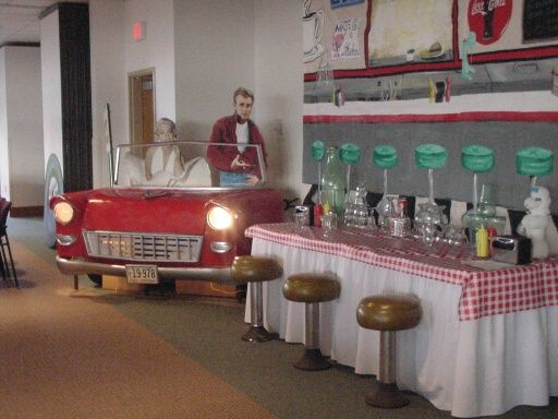 Best 50 S Party Decorations 50 S Soda Fountain Decorations This Month
