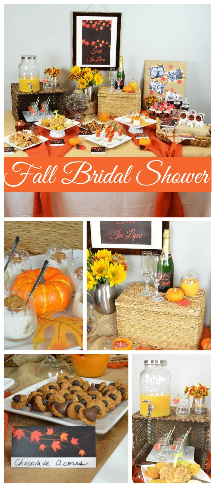 Best A Fall In Love Themed Autumn Leaves Bridal Shower With This Month