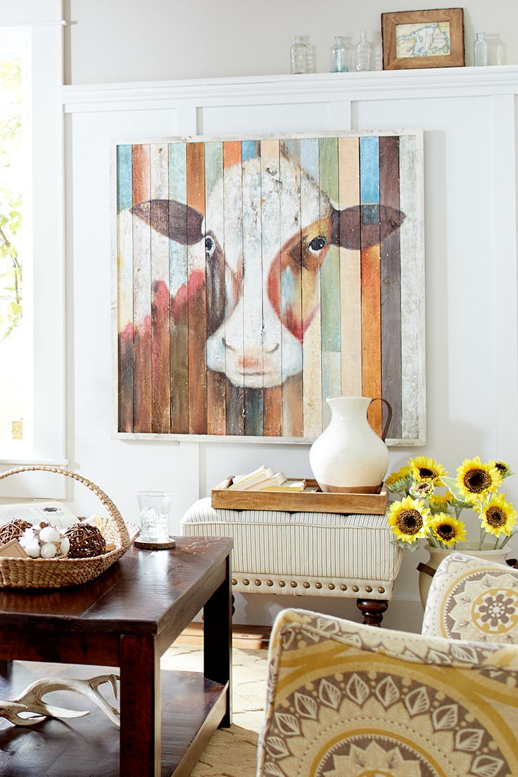 Best Belle Of The Farm Cow Wall Art In 2019 Wall Decor Home This Month