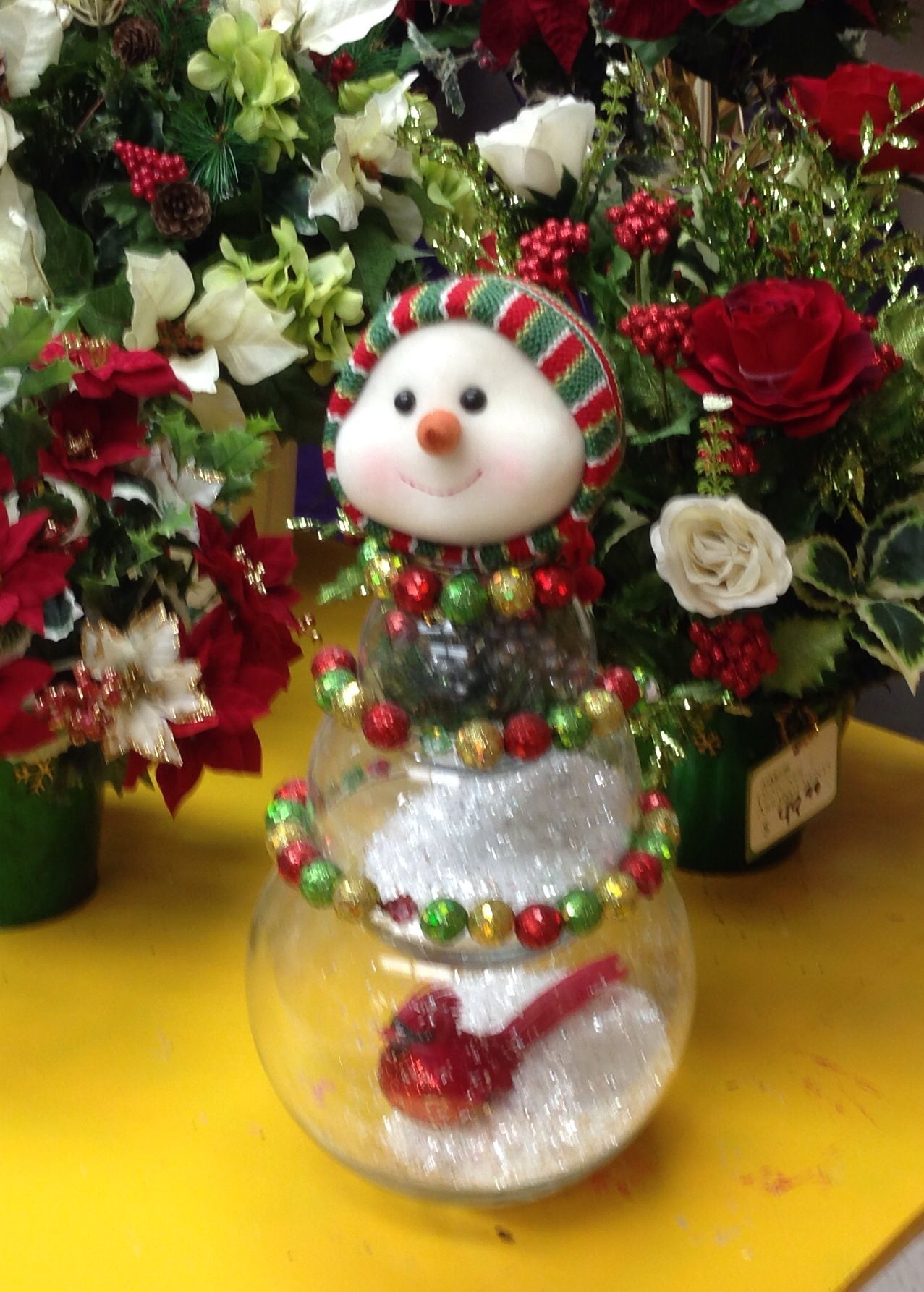 Best Holiday Snowman Designed By Danielle Abaire Ac Moore This Month