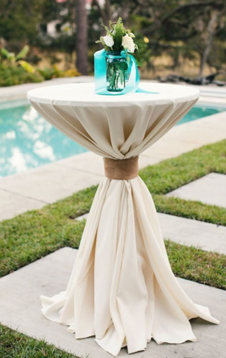 Best Perfect Cocktail Table Linens Just Put Festive Decor On This Month