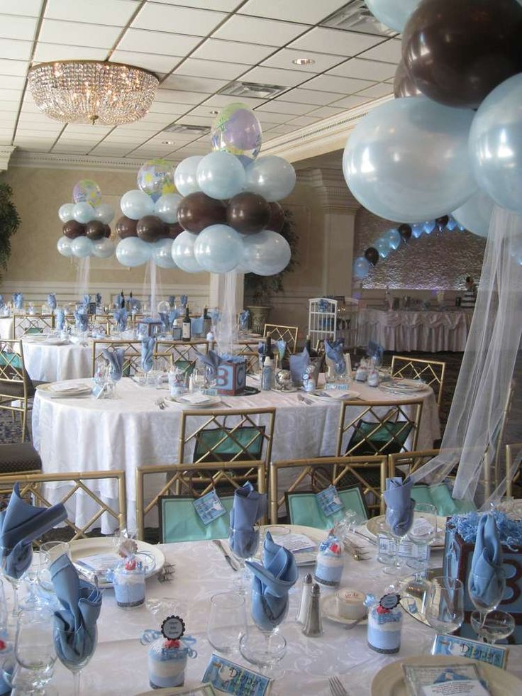Best Blue Brown And Blocks Baby Shower Party Ideas Baby Boy This Month