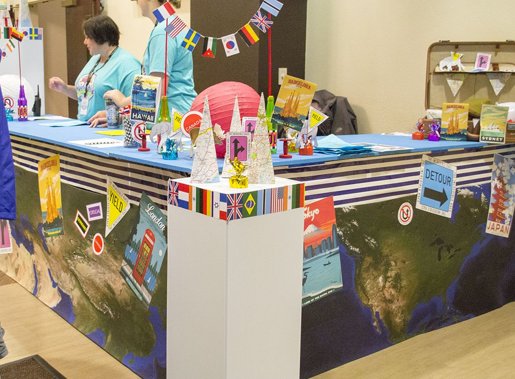Best Vbs Information Counter Decoration Ideas For The This Month