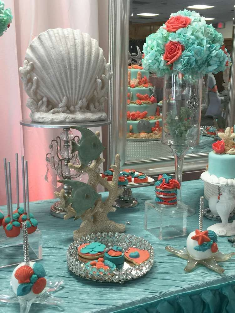 Best Under The Sea Quinceañera Party Ideas In 2019 Dessert This Month