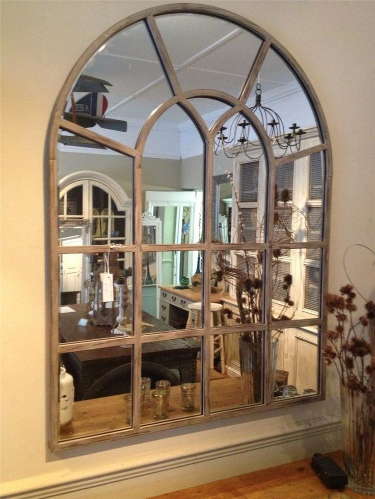 Best Window Pane Mirrors On Wall Industrial Window Pane This Month