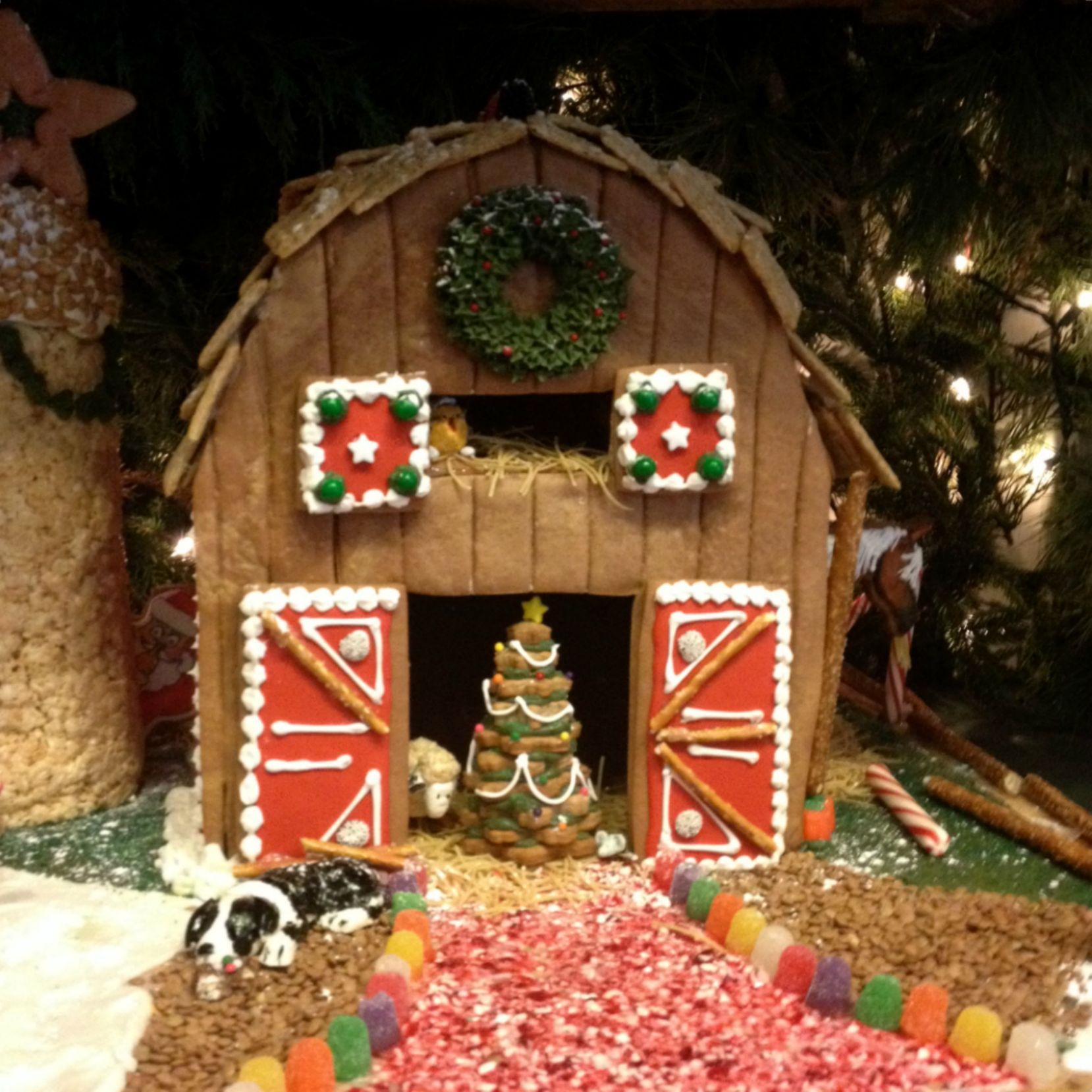 Best Barn Gingerbread Houses Google Search Gingerbread This Month