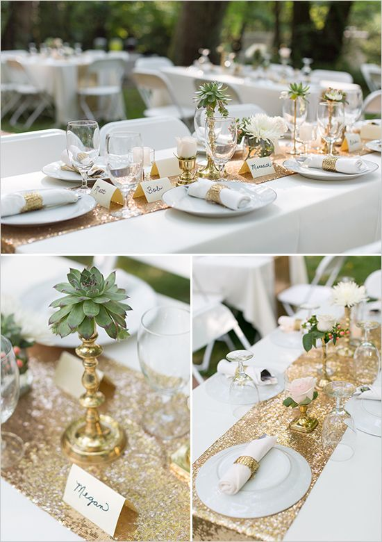 Best Gold And Mint Vintage Wedding Table Decor For Weddings This Month