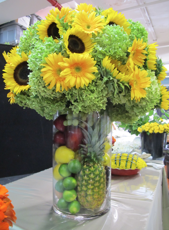 Best Sunflower Centerpiece With Fruit Preston Bailey Table This Month