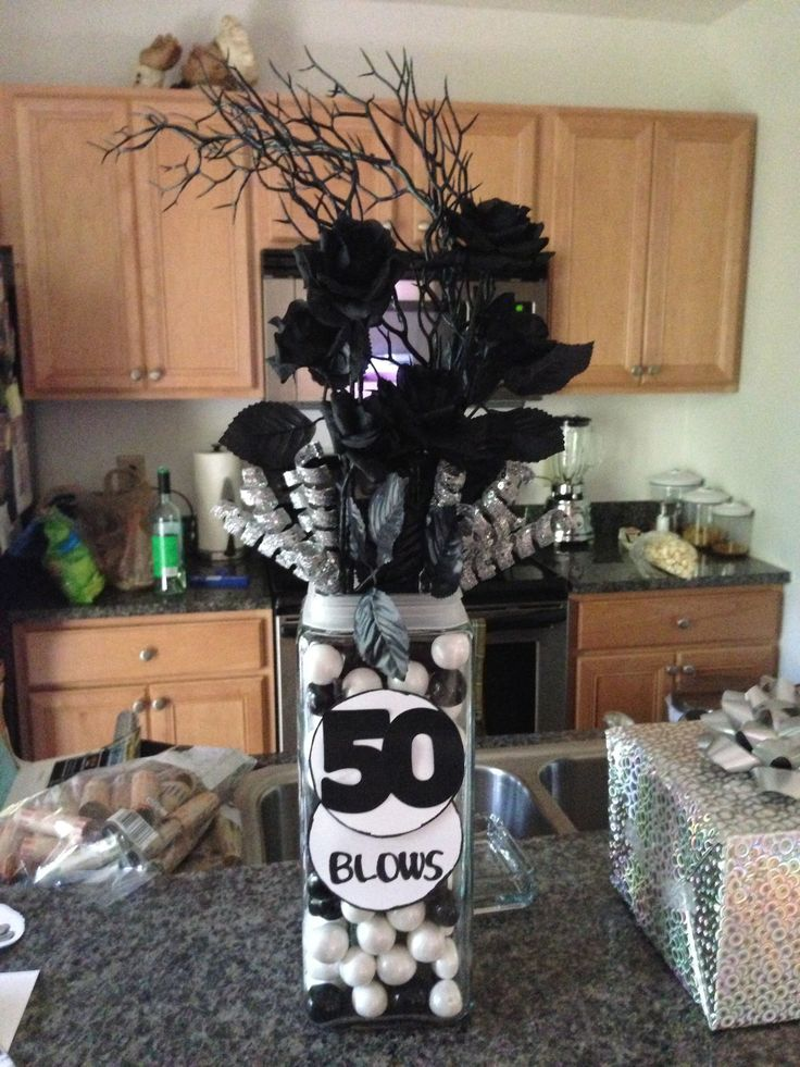 Best 50Th Birthday Table Centerpiece Ideas For Men 736Px This Month