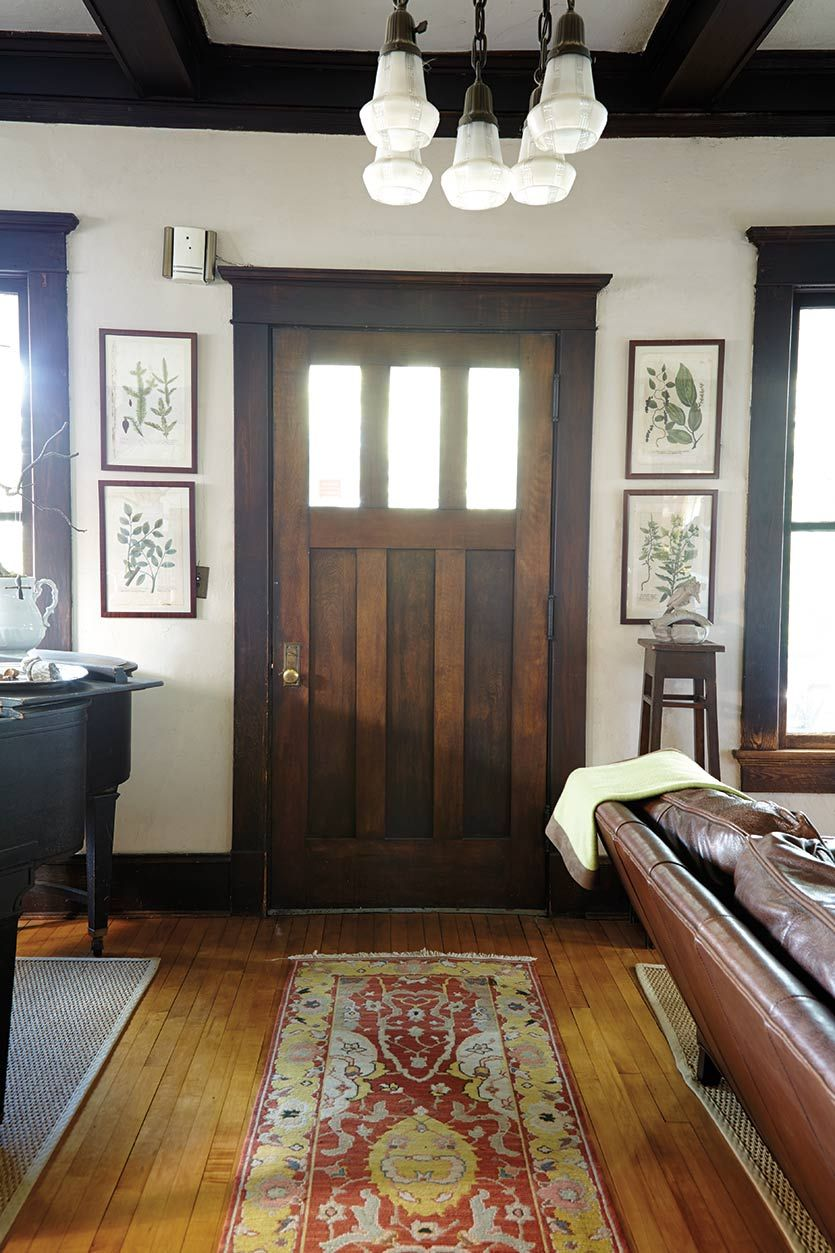 Best Tour Of A Craftsman Home In Atlanta Ga Entryway This Month