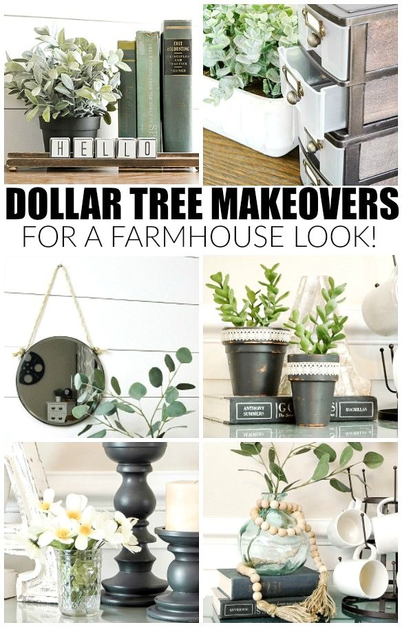Best How To Get The Farmhouse Look With Dollar Tree Items This Month
