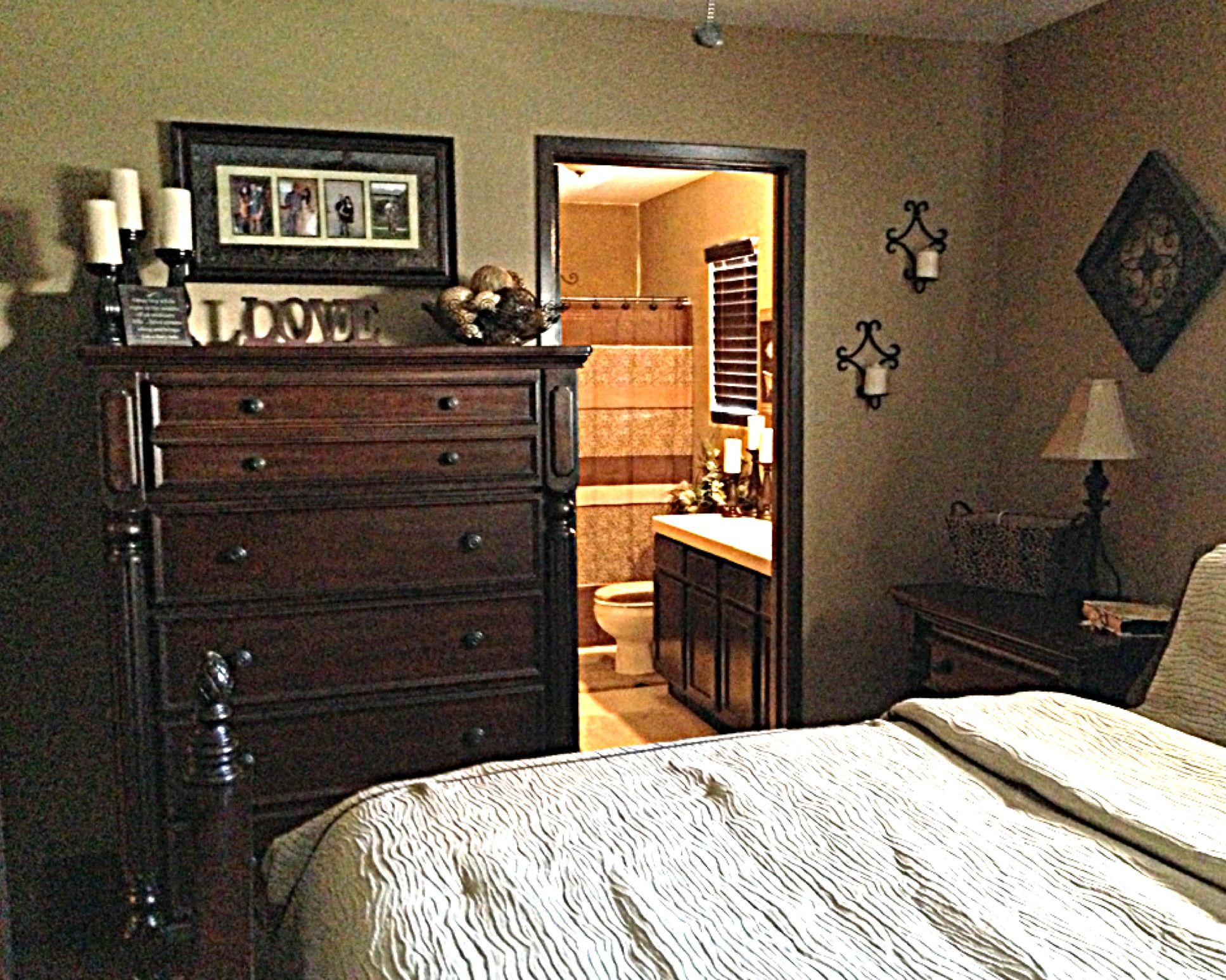 Best Tall Dresser With Decor Masterbedroom Our Room This Month