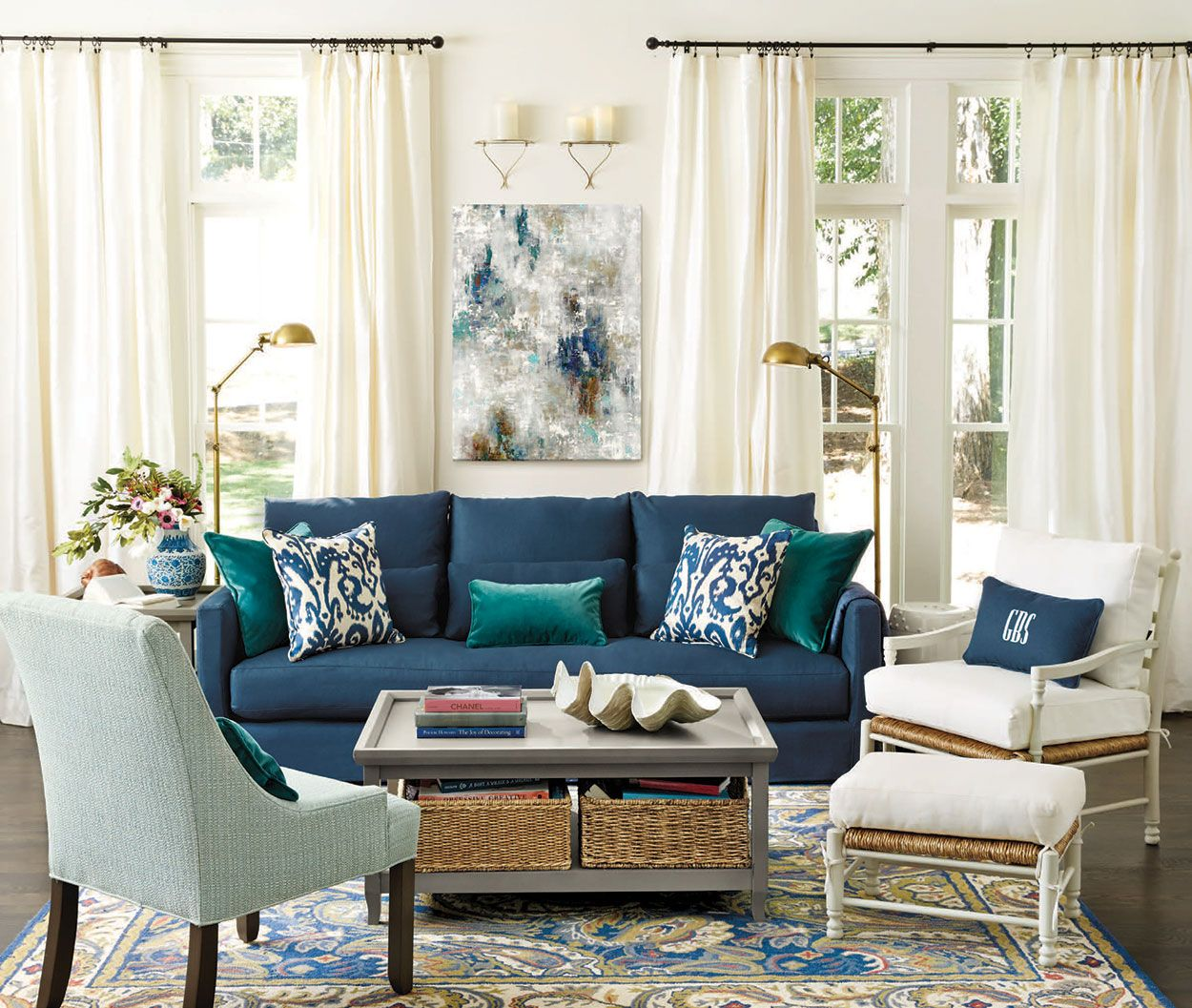 Best Living Rooms Ideas For Decorating Blue Living Blue This Month