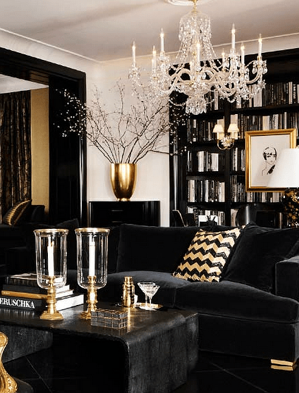 Best Black Gold And White Interior Design Decor Ideas This Month