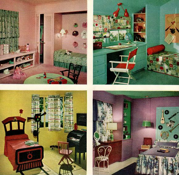 Best Chronically Vintage Four Marvelously Colourful 1950S This Month
