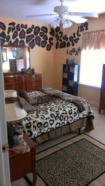 Best Cheetahs Room For Our Teenager Home Is Where The Heart This Month