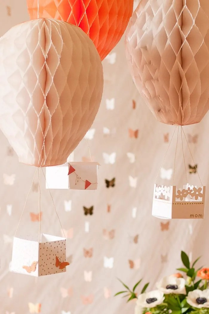 Best Diy Hot Air Balloon Party Decor Flax Twine This Month