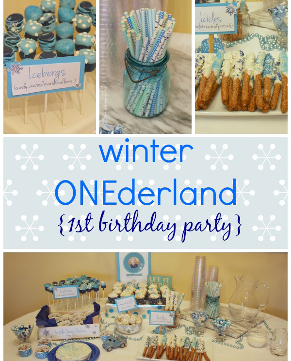 Best A Winter Onederland For Baby's First Birthday – Party Ideas This Month